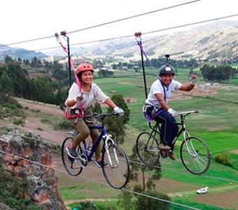 Tour Skybike en Cusco
