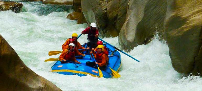 Canotaje en el Rio Apurimac